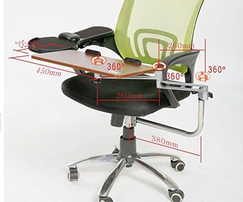 Elink Pro Chair Mount Ergonomic Keyboard Laptop Tray System Plus Chair Mount Armrest Mouse Tray Walnut Laptop Tray Chair Ergonomics