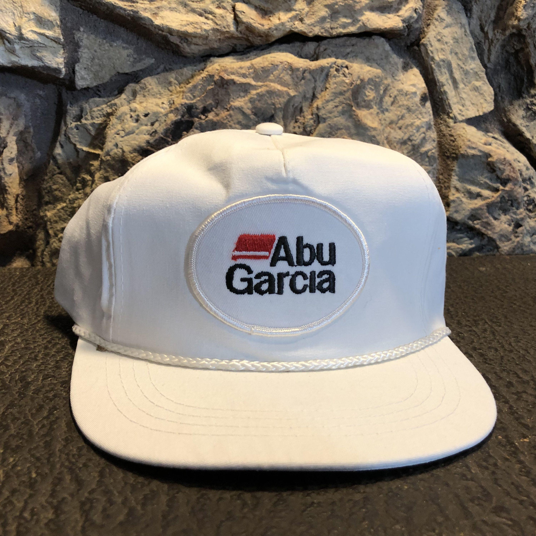 2cc3c4ba 1970's ABU Garcia hat Original vintage trucker hat snap back hat fishing hat  adjustable made in Canada
