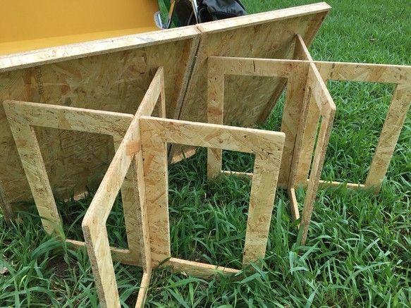 人気 コンパクト アウトドア キャンプ ミニテーブル Muebles Plegables Mesa Plegable Cosas Originales