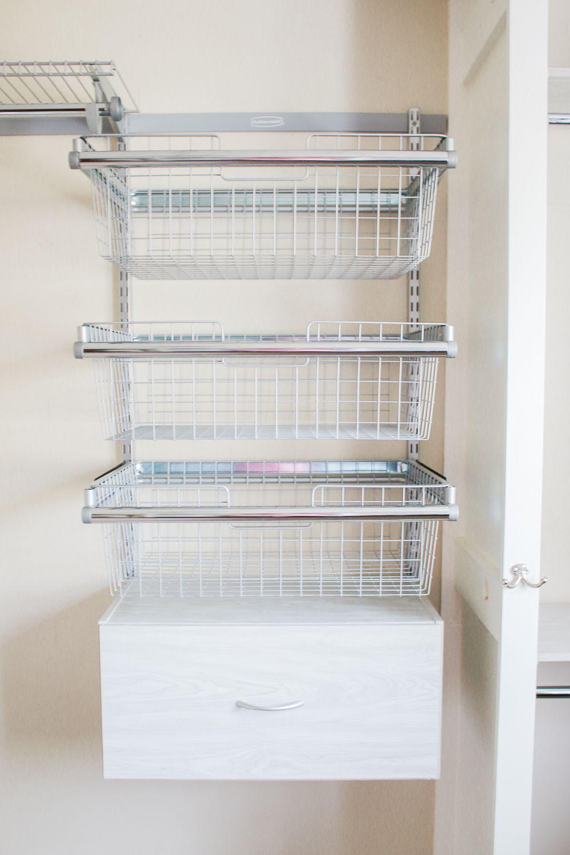 How To Refresh Your Closet With A Rubbermaid Fasttrack Closet System Closet System Rubbermaid Closet Organizer Diy Custom Closet