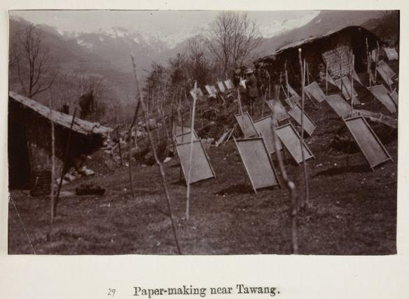 papermaking in Tibet