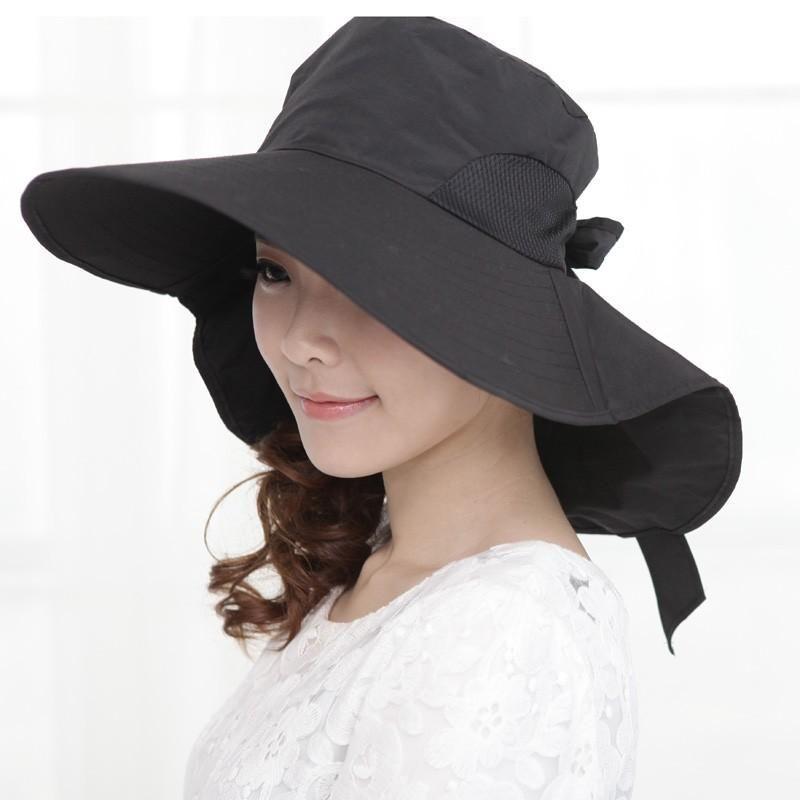Maitose Trade; Womens Wide Brim Foldable Sun Hat