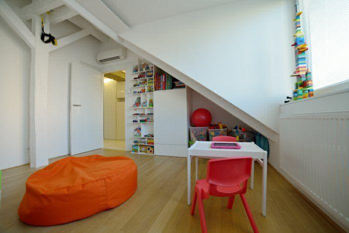 Kinderzimmer Einrichten Dachwohnung Einrichten Zimmergestaltung
