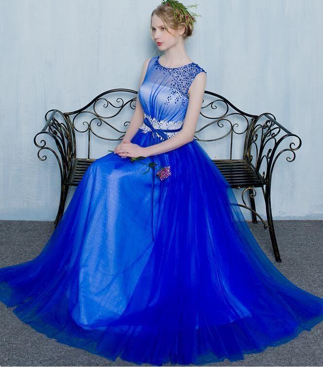 Elegant Lace Pearl Bowknot Belt Prom Gown Halterneck Bandage ...