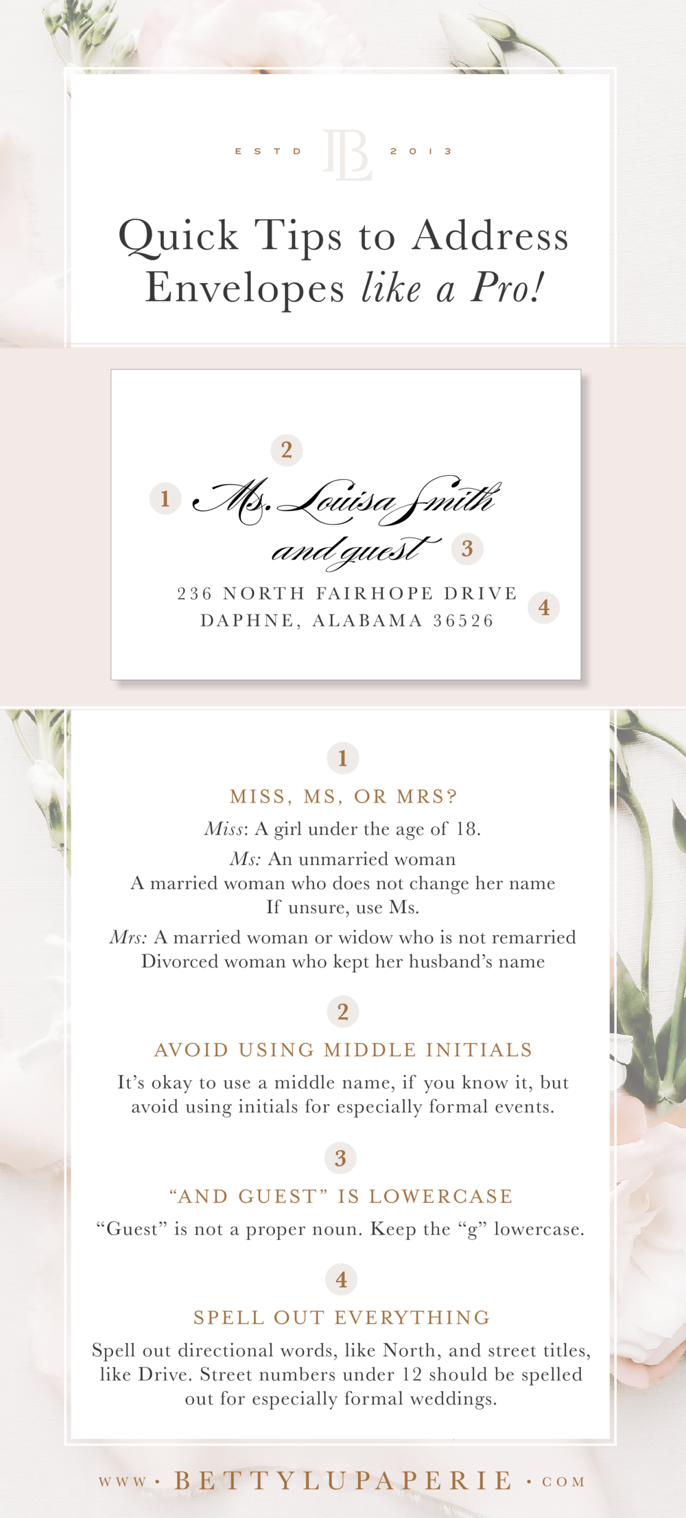 How To Address Wedding Invitation Envelopes Like A Pro Betty Lu Paperie Addressing Wedding Invitations Wedding Invitation Envelopes Wedding Invitation Wording Formal