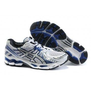 l81f Zapatos Asics Kayano 17 Hombre Blanco/Azul