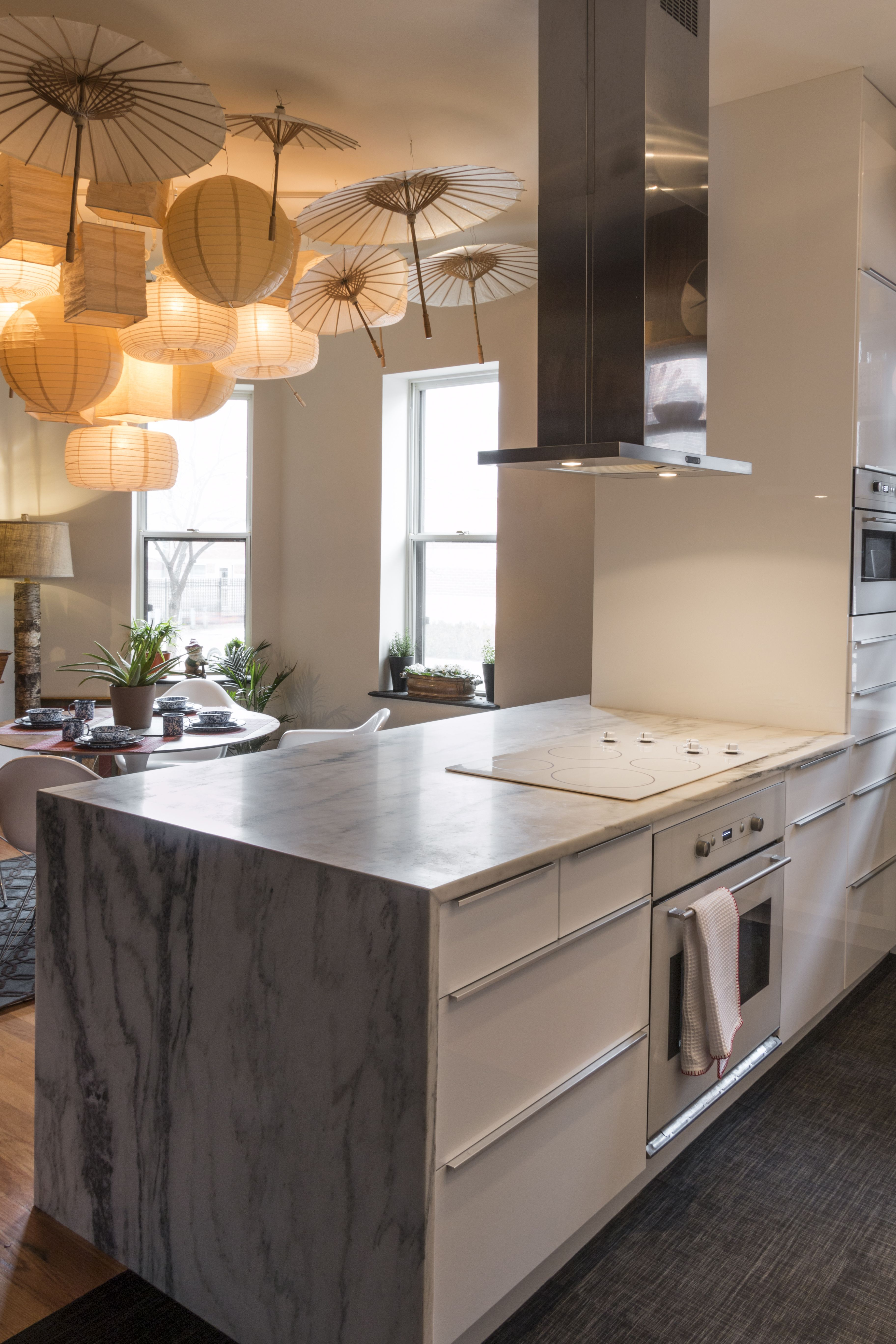 Schaller kitchen chilewich floor tiles danby vermont marble schaller kitchen chilewich floor tiles danby vermont marble waterfall countertop ikea cabinets dailygadgetfo Image collections