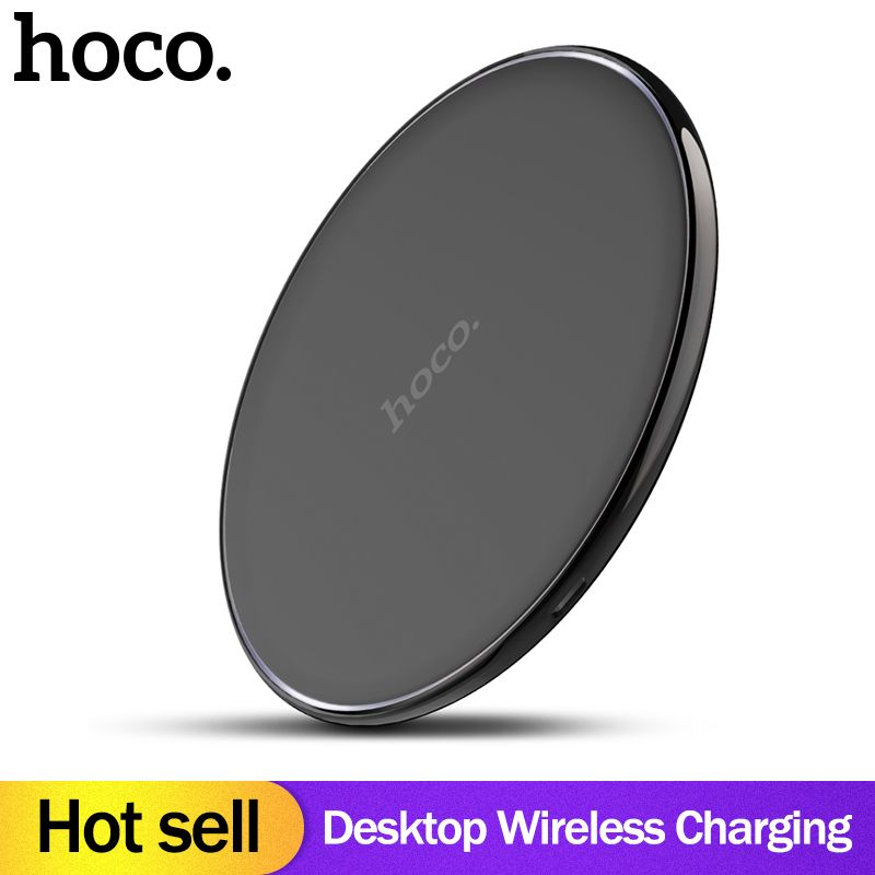 Hoco Original Qi Wireless Charger Desktop Wireless Charging Pad For Iphone Xr Xs Max X 8 For Samsung Galaxy S9 Wireless Charger Wireless Charging Pad Wireless