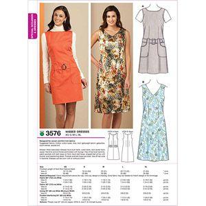 Size XS-S-M-L-XL Kwik Sew K2954 Wrap Skirts Sewing Pattern