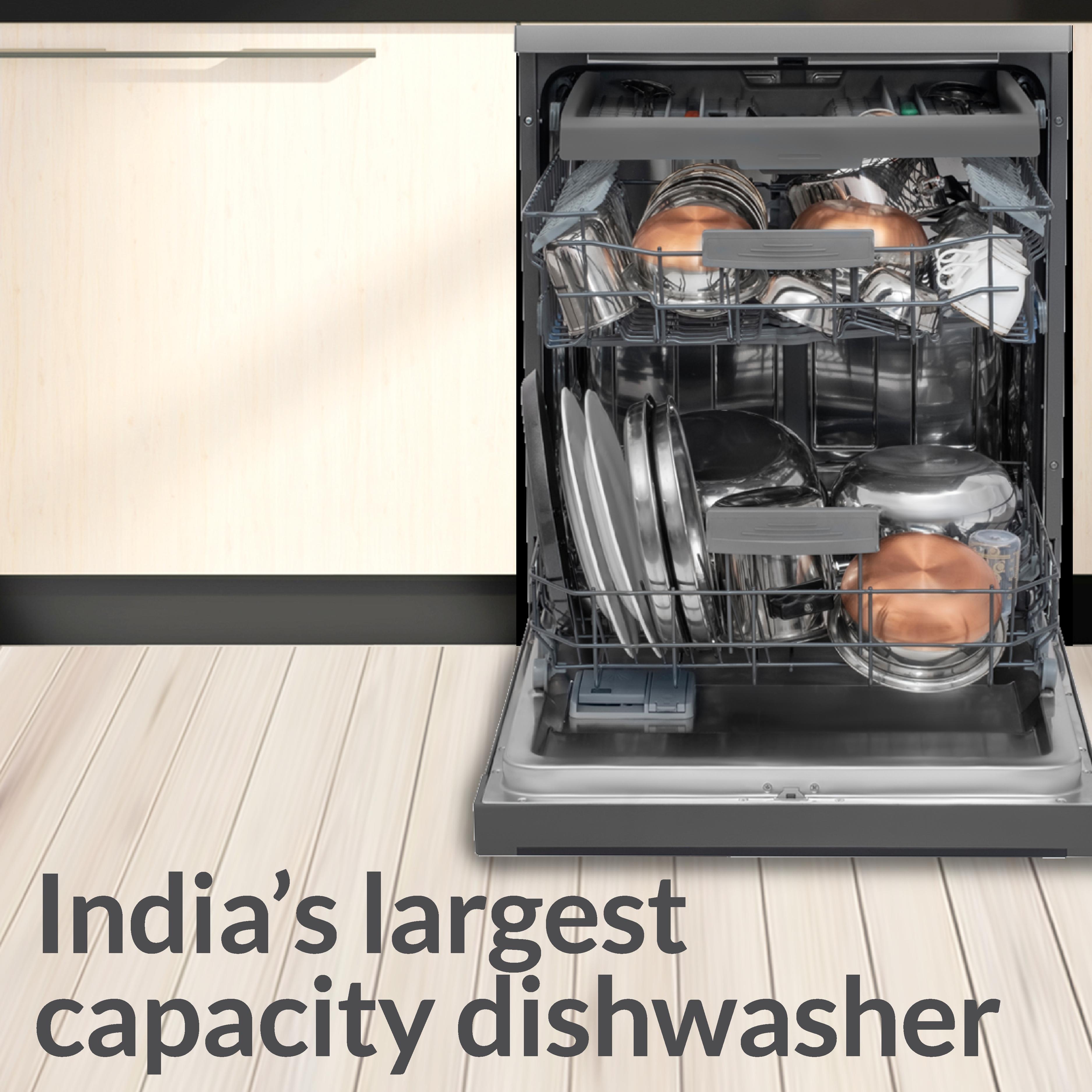India S Largest Capacity Dishwasher Dishwasher Place Settings Neptune