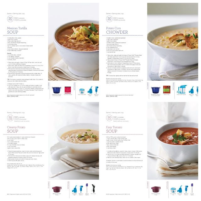Bpa free kitchen 4 quick and easy soup recipes using tupperware bpa free kitchen 4 quick and easy soup recipes using tupperware microwave pressure cooker forumfinder Gallery