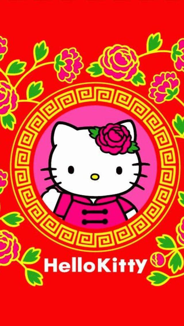 hello kitty wallpaper happy chinese new year chinese new years happy new year