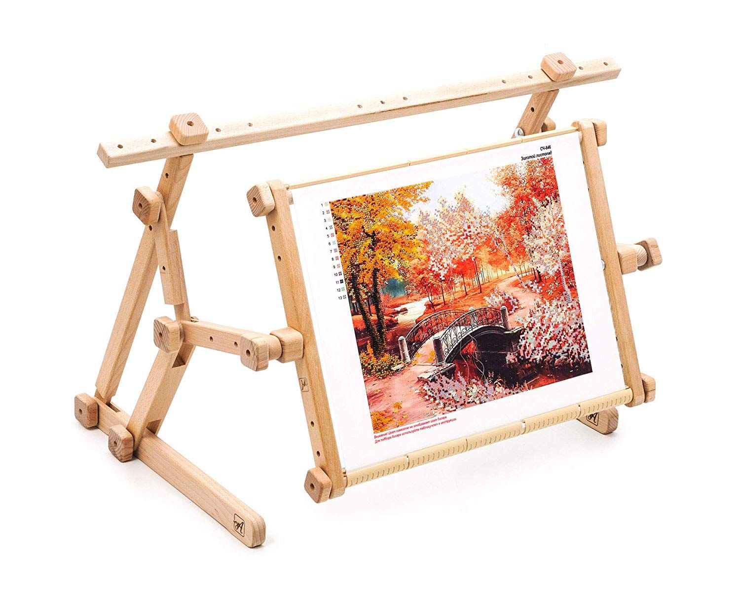 Allaboutembroideryua Embroidery Adjustable Lap Table Stand Hands