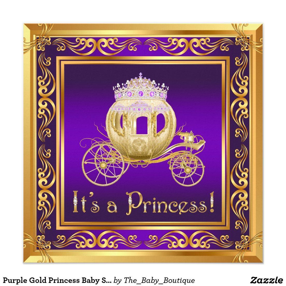 Baby Shower Princess Invitations is luxury invitations ideas