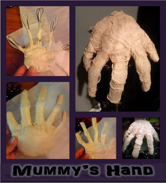 Make Your Own Mummy Hand  With Images