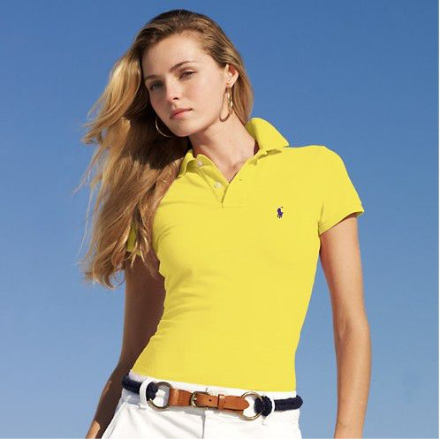 ralph lauren outlet uk Women\u0027s Classic-Fit Short Sleeve Polo Shirt Yellow  http://www.poloshirtoutlet.us/