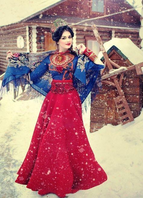 Russian Woman Is Described