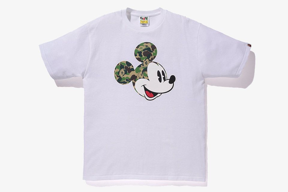 Bape & Disney new collaboration  In their earlier days, Filling Pieces was bounded of materials and suppliers. Filling Pieces has broken that boundary with the AW16 collection  #bape #disney #bapexdisney #menswear #menfashion #menstyle #rtw #fashion #collab #tshirt