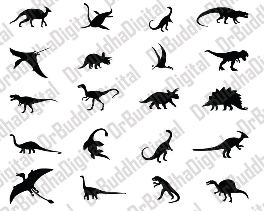Dinosaur Svg Collection