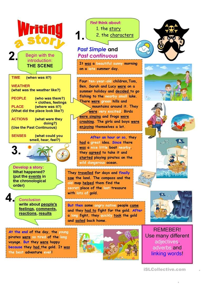 Writing A Story Writing Worksheets Creative Writing Lesson Teaching English