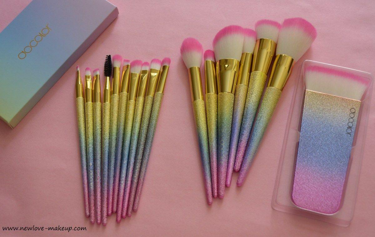 Docolor Fantasy Makeup Brush Set/Contouring Brush Review