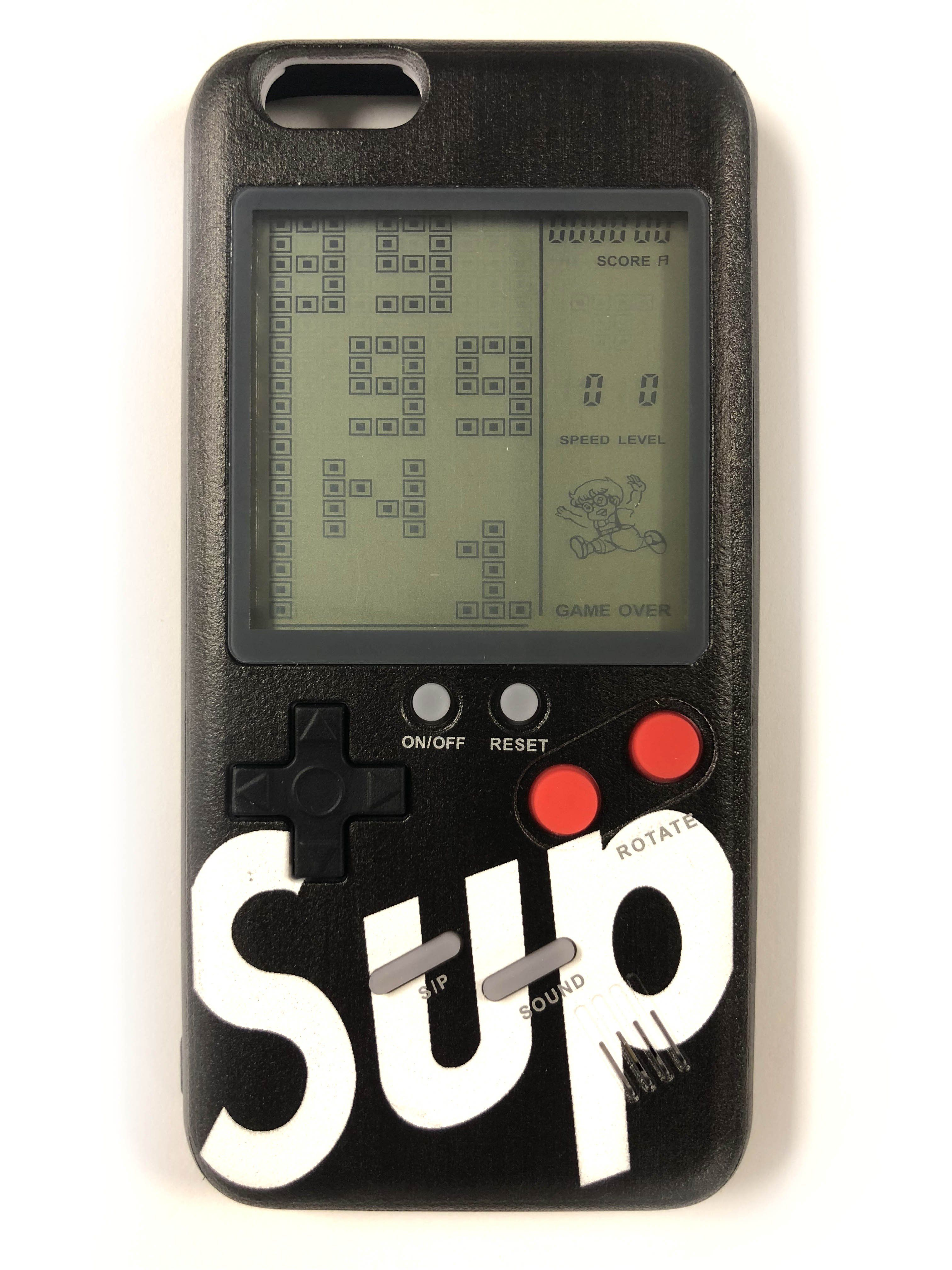 Casenerd sup gameboy black iphone case cheap iphone 7