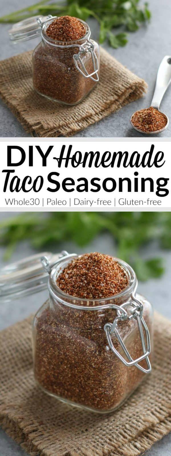 Homemade Taco Seasoning (Whole30)