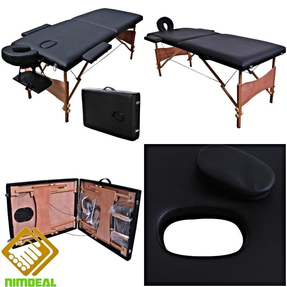 Incredible Portable Massage Table Tattoo Facial Spa Bed Mobile Suitcase Home Interior And Landscaping Eliaenasavecom