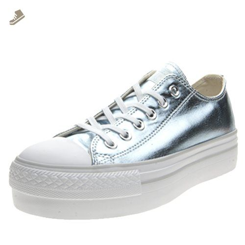CT AS OX PLATFORM CANVAS METALLIC - FOOTWEAR - Low-tops & sneakers Converse lNybM