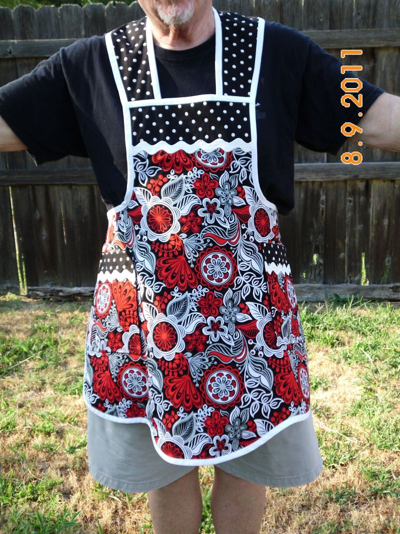 First Apron I made.