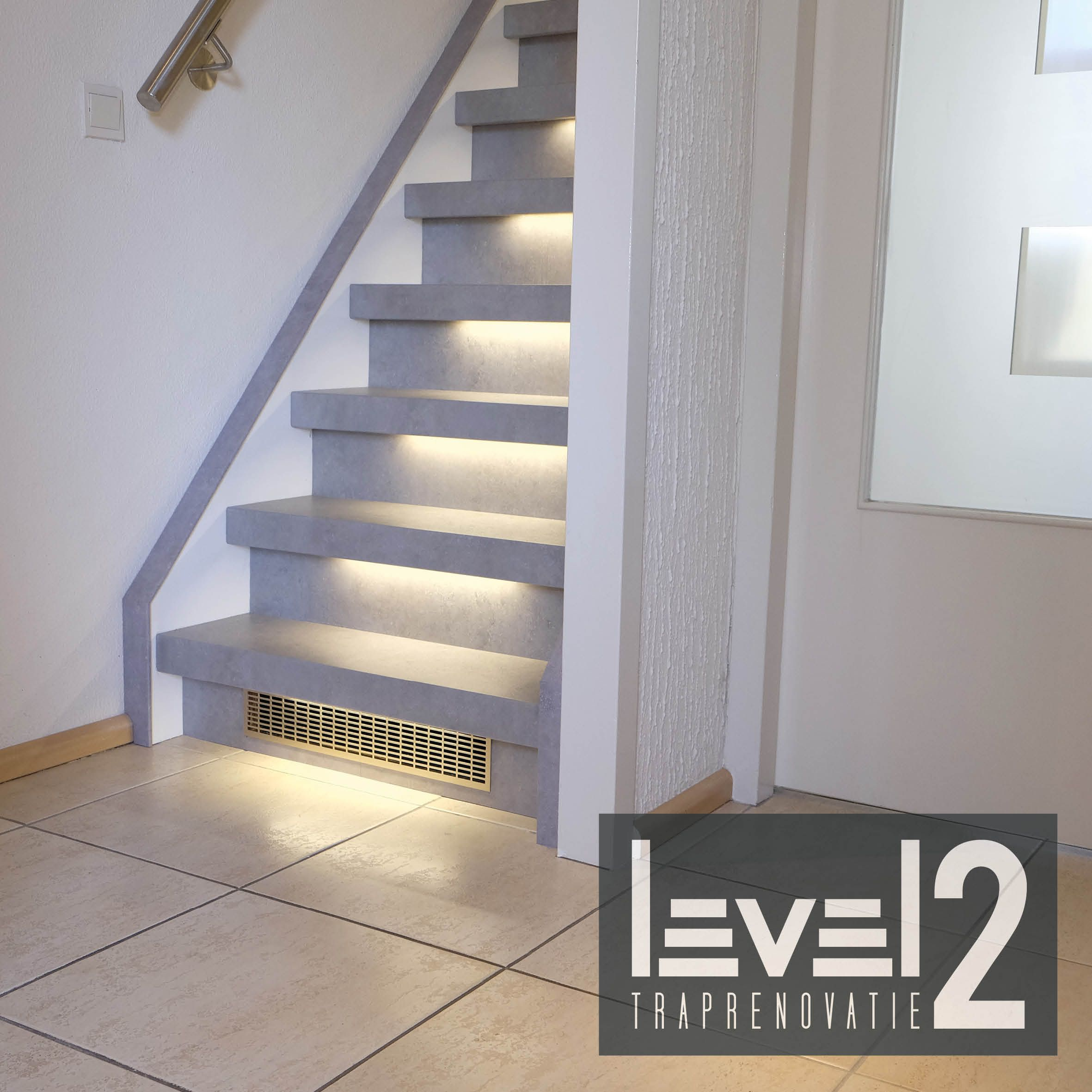 level2 traprenovatie #trap bekleden #trap renoveren #traprenovatie ...