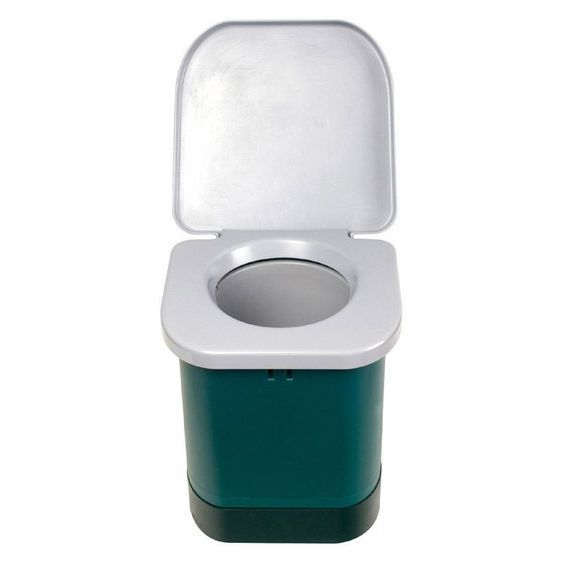 Stansport Portable Toilet Camping Hiking Boat Outdoor Shower Easy Clean Potty