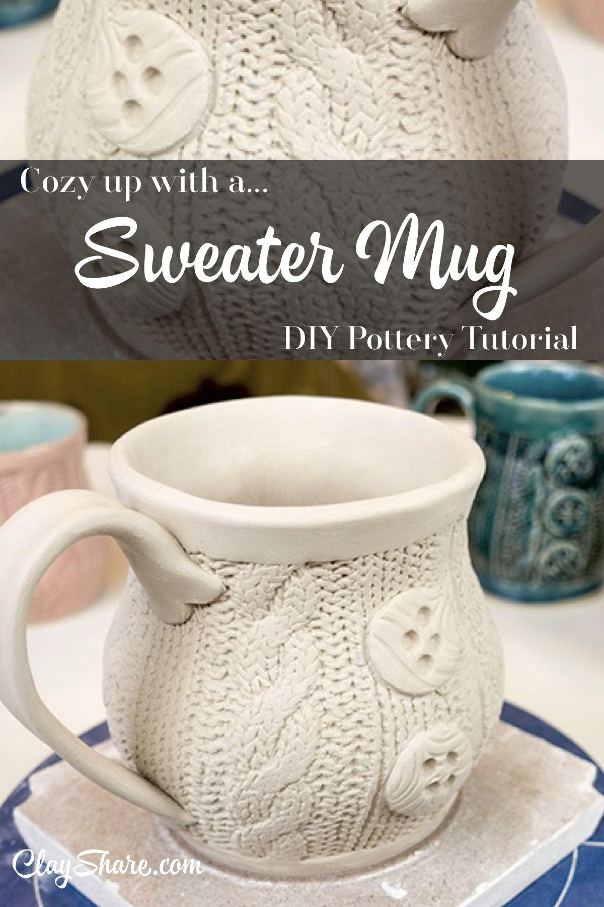 Sweater Mug Pottery Pottery Mugs Mugs