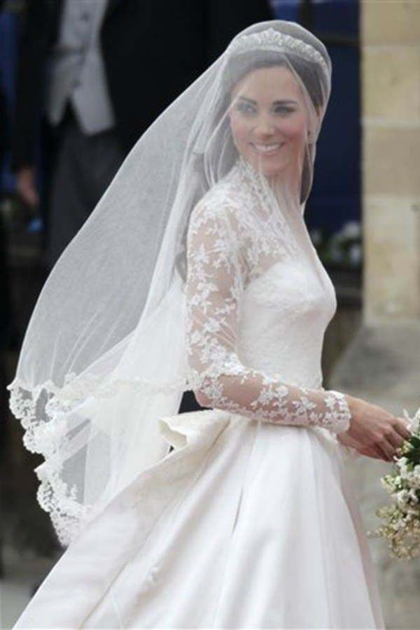 Wedding Dresses With Veils White Dress Combined Veil Would Be A Perfect