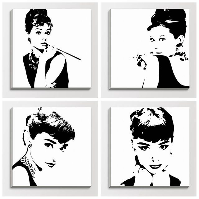 audrey hepburn painting ikea google search gabrielas