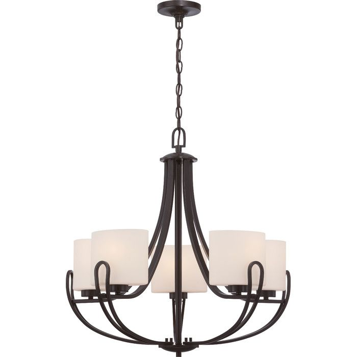 You Ll Love The Maureen 5 Light Chandelier At Joss Main With Great Deals On All Products And 5 Light Chandelier Traditional Chandelier Chandelier Lighting