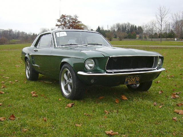 1967 mustang green and rusted had it for a month or 2 it - 1967 Ford Mustang Coupe Green