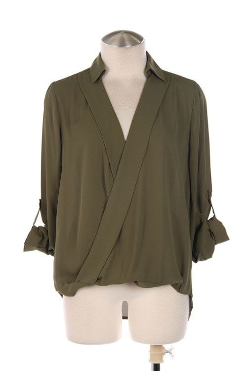 Crossed by Closet Confessions Fashion, Boutique tops, Tops