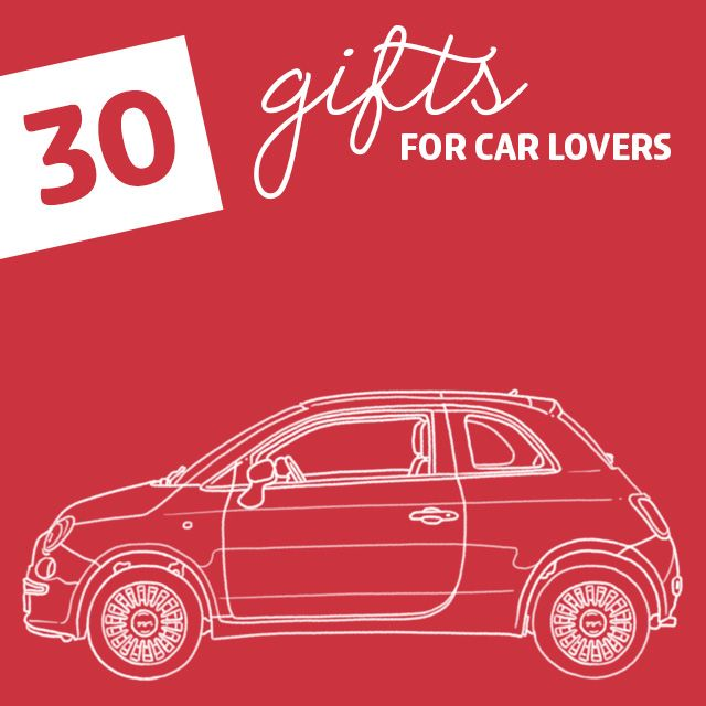 Give Your Car Lover And Enthusiast One Of These Great Car Gifts And Gear.  They Are Worthy For Any Motorhead, No Matter Your Budget.  Www.allstarautomotive. ...