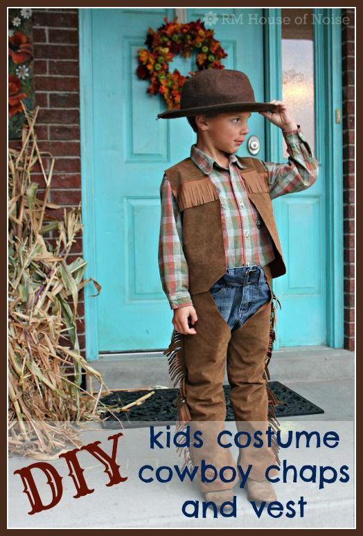 House Of Noise I Mean Boys Diy Kids Costume Cowboy