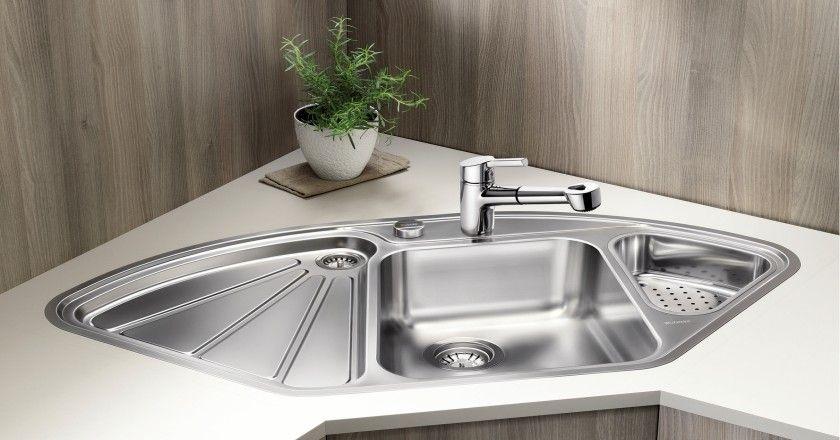 Http Basskitchensink Com Big Mini Bowl With Drain Board Php Corner Sink Kitchen Sink Modern Kitchen Sinks