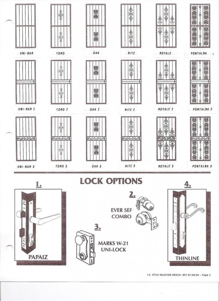 Rejas para puertas decoracion pinterest - Rejas para puertas ...