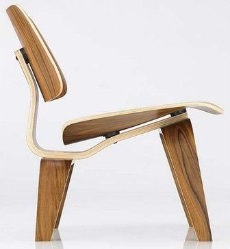 Eames Molded Plywood Lounge Chair | DWR Modern Chairs