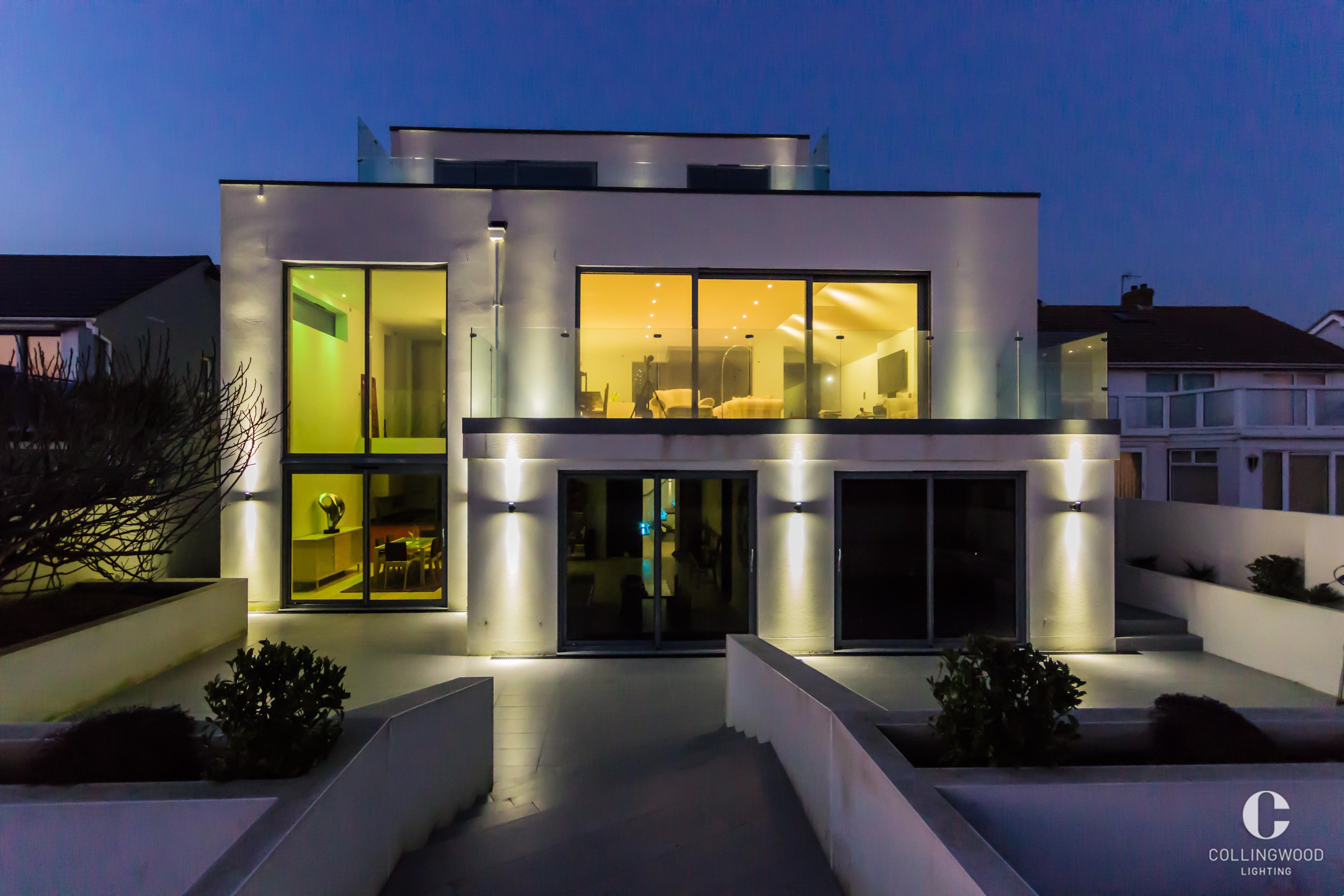 Wunderbare Szenerie Effektive Beleuchtung Setzen Sie Ihren Aussenbereich In Led Leuchten Strandhauser Brighton