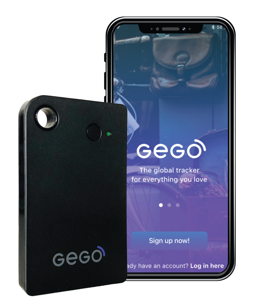 GEGO Global Tracker Personal tracking device, Gps