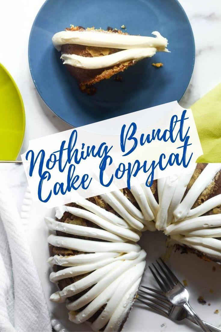 Nothing bundt cake copycat classic vanilla recipe recipe