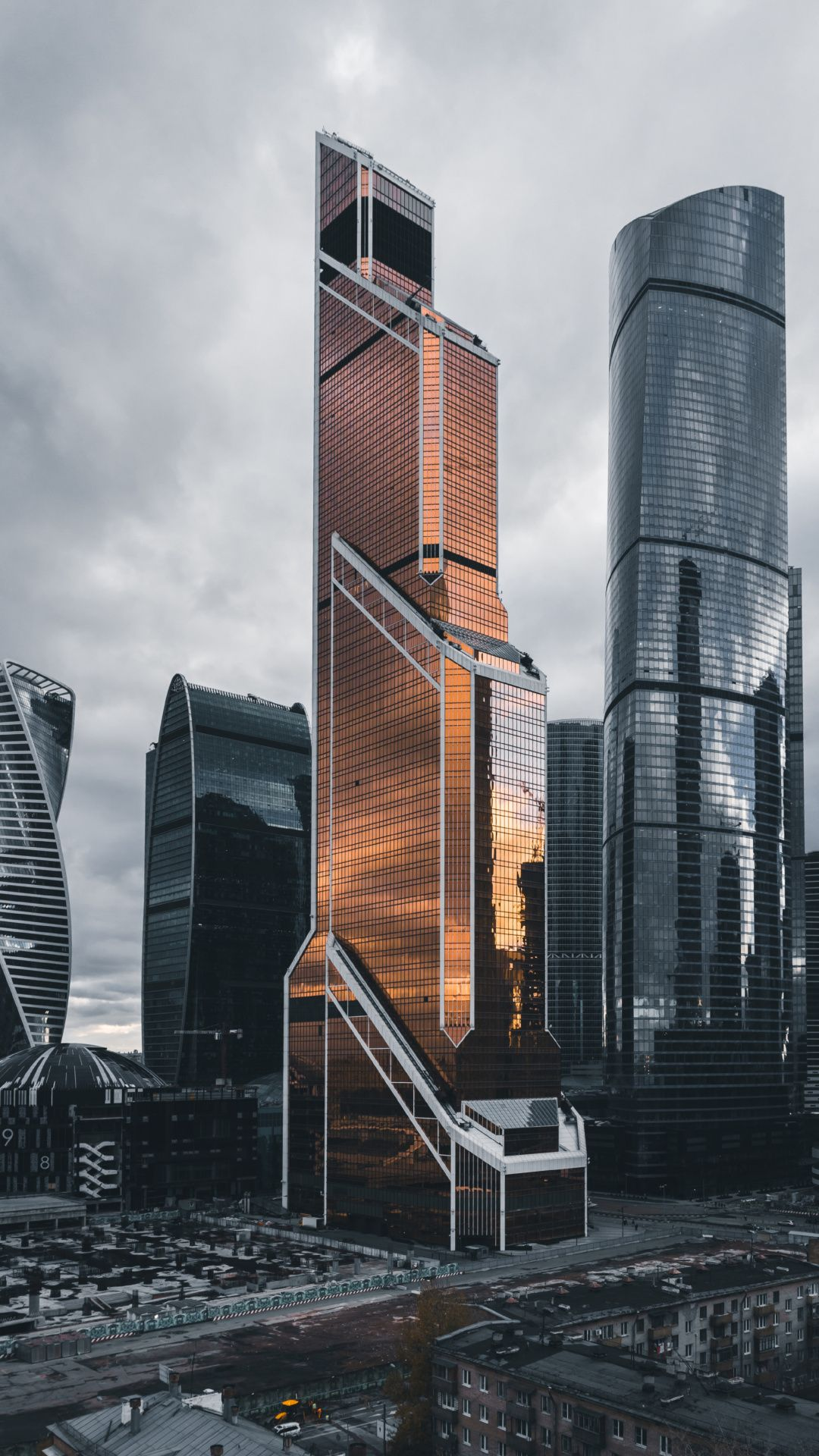 Wallpapers urban area, cityscape, architecture, tower