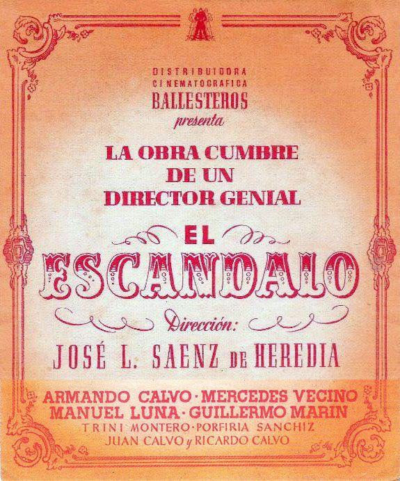 El escándalo (1943)