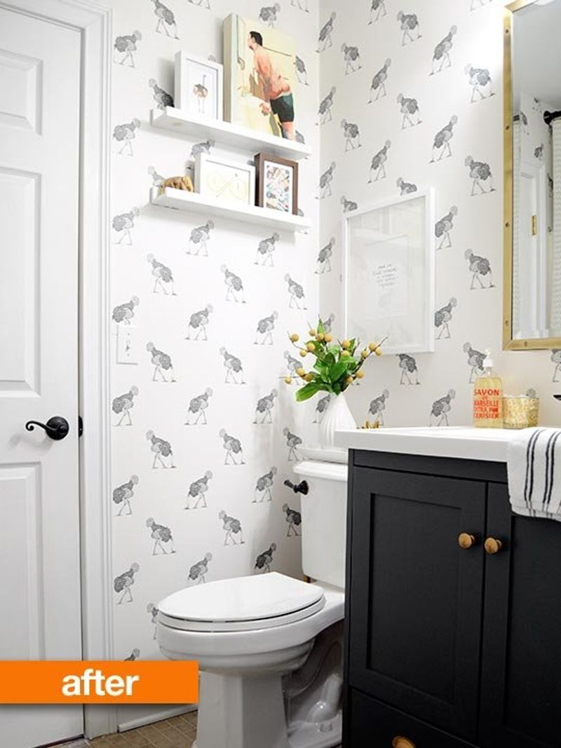 Before & After: Small Bathroom Finally Meets Its DIY Maker | Small ...