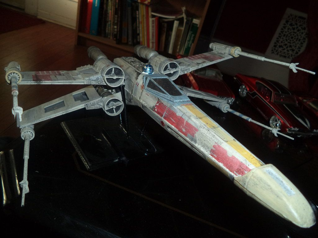 star wars x wing fighter by captain86 on deviantart. Black Bedroom Furniture Sets. Home Design Ideas